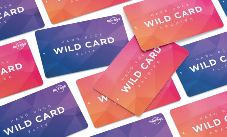Wild Card Reward cards available at Hard Rock Hotel & Casino Sacramento